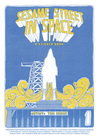 Sesame Street in Space Sticker Book 003