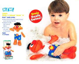 Tyco 1998 swim n splash ernie