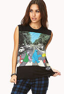 Forever 21 beatles shirt