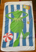 Lady pepperell kermit towel