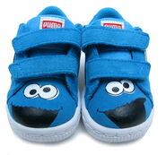 Puma toddlers suede sneakers cookie monster