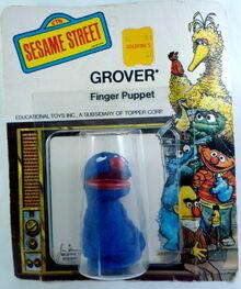 Topper 1971 grover finger puppet b