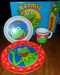 Zak designs kermit dinnerware set 1