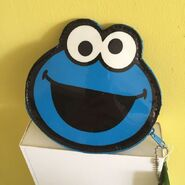 Bossini cookie monster coin purse