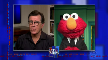 Colbert Elmo