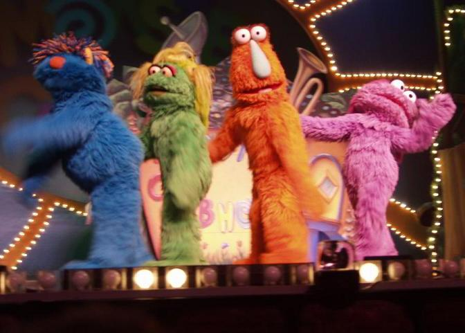 Monster Clubhouse walk-around characters | Muppet Wiki