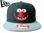 New era animal black cap