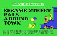 Sesame Street Pals Around Town 1