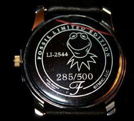 Fossil kermit's 50th anniversary watch 3