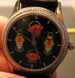 Fossil sesame street general store watch ernie bert mood watch