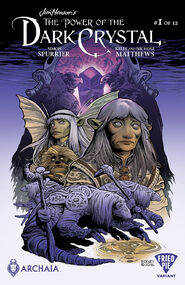 Power of the Dark Crystal 01 Ben Dewey cover