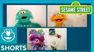 Sesame Street Friends Dance with Rosita and Zoe Abby's Dance Party 3-0
