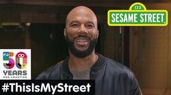 Sesame Street Memory Common ThisIsMyStreet