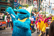 Universal studios singapore sesame street birthday blowout show 3