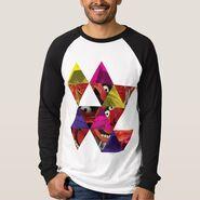 Zazzle animal triangle pattern shirt