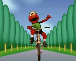 Elmocyclist