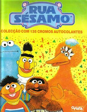 Rua Sesamo sticker book