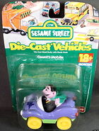 Fisher-price 1998 die-cast car countmobile