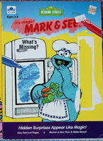 Golden 1992 mark and see coloring book 2