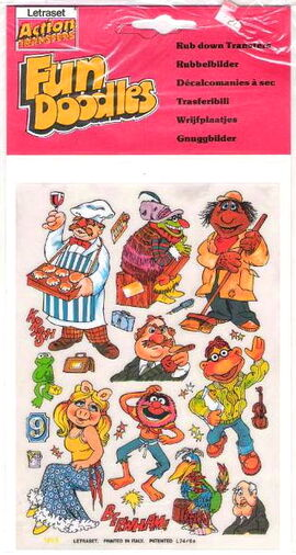 Letraset muppet show 1