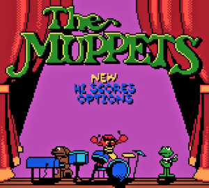 Muppets GameBoy Color 00 title