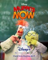 Muppets Now poster Bunsen Beaker