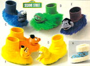 Sesame slippers 1980