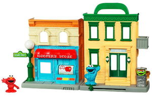 Sesame street playset hasbro 2a