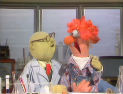 TheMuppetShow-S04E18-Bunsen&Beaker-HauntinglyAttractive