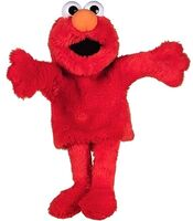 United labels elmo puppet 2008 35cm