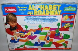 Alphabet roadway