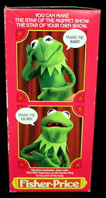 Fisher-price kermit hand puppet 3