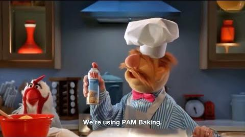 PAM commercials 2017 Swedish Chef