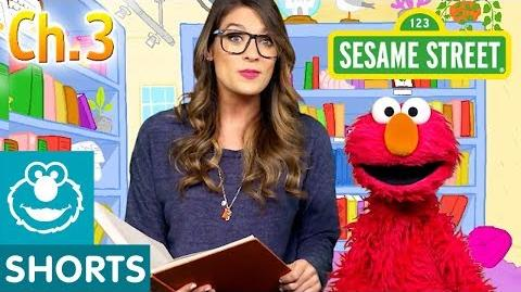 Elmo and Ms. Booksy Read Jack and the Beanstalk Part 3