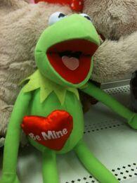 Just play 2012 valentines kermit doll 2