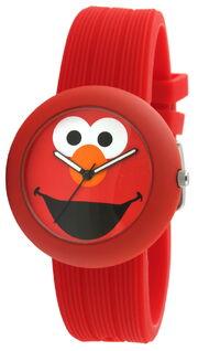 Viva time rubber strap watch elmo