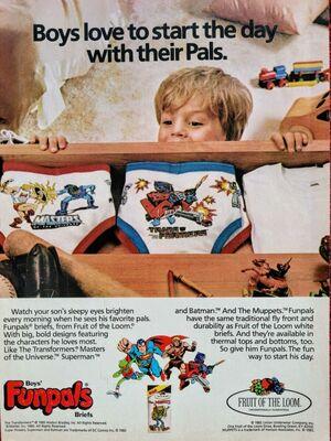 Funpals briefs ad