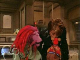 Kiss Paula Abdul and Rizzo