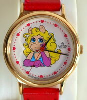 Lorus 1991 miss piggy watch