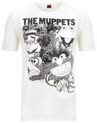 Mup beatles reolver spoof t-shirt