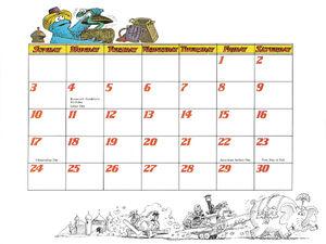 1978 calendar 09 September b