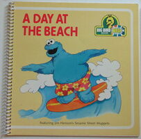 Beep books day at the beach