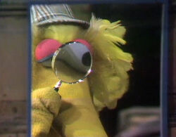 Big Bird as Sherlock Hemlock 0273