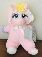 Eden toys muppet babies plush miss piggy lovey