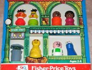 Fisher-price play family little people set sesame street characters 2