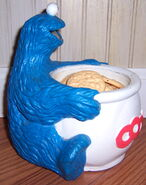 Lewco 1989 toy cookie monster jar 2