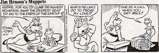 The Muppets comic strip 1982-05-21