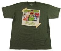 Muppet t-shirt selfie