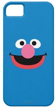 Zazzle grover face art