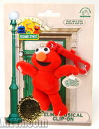 Applause 2000 beanbag plush elmo musical clip-on classic character collection 1